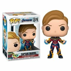 Funko Cap Marvel W/Hair (576) - Endgame (Marvel)