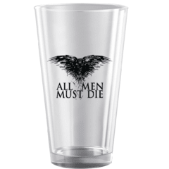 Vaso All Men Must Die - comprar online