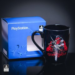 Taza God Of War Negra - comprar online