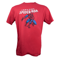 Remera Spiderman Roja