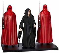 Kotobukiya - Star Wars Episode 6 - Emperor Palpatine With Royal Guards 1/10 Artfx+ - comprar online