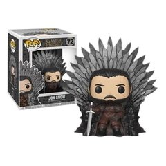 Funko Jon Snow Iron Throne Deluxe (72) - Game Of Thrones (GOT)