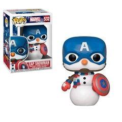 Funko Cap Snowman (532) - Marvel Holiday (Marvel)