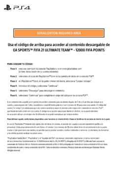 FIFA21 Points 12000 Digital (Puntos/Monedas FIFA21) - comprar online