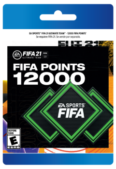 FIFA21 Points 12000 Digital (Puntos/Monedas FIFA21)