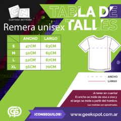 Remera Cartoon Blanco y Negro - comprar online