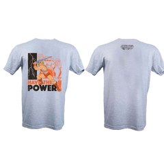 Remera He-Man Power Gris Hombre