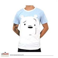 Remera Polar Hombre (We Bare Bears)