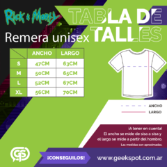 Remera Anatomy Park (Rick & Morty) en internet