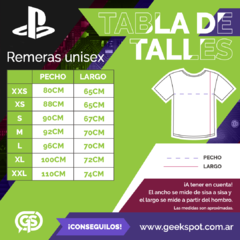 Remera PS Retro Colors Blanca en internet