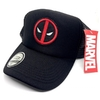 Gorra Trucker Deadpool Logo Negra