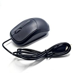 Mouse USB Com Fio CK-MS35 Plug In Play 1000DPI Scroll Roller