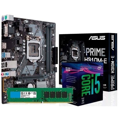 COMBO ACTUALIZACION PC INTEL CORE I5 8400 + H310M + 8GB DDR4