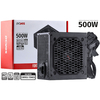FONTE ATX 500W SPARK 75+ PFC ATIVO CABOS FLAT - PXSP500WPT - PCYES