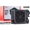 FONTE ATX 600W SPARK 75+ PFC ATIVO CABOS FLAT - PXSP600WPT - PCYES