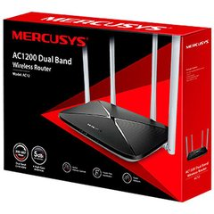 ROTEADOR WIRELESS AC1200 DUAL BAND - AC12 - MERCUSYS - HSB COMERCIO VIRTUAL