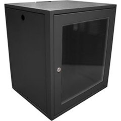 Rack Mini 19'' 16u X 550mm Para Parede (Preto)