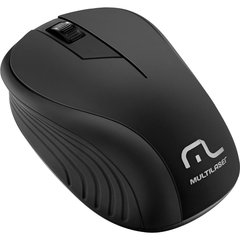 MOUSE SEM FIO 2.4GHZ USB PLUG AND PLAY 1200DPI - MO212 - MULTILASER (PRETO)
