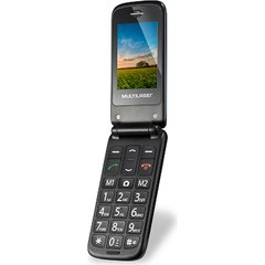 CELULAR FLIP UP DUAL CHIP - P9020 - MULTILASER (AZUL)