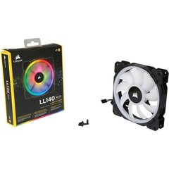 FAN PARA GABINETE LL SERIES 140MM RGB - CO-9050073-WW - CORSAIR na internet
