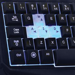 TECLADO WARRIOR GAMER COM LED UBS - TC167 - MULTILASER (PRETO) na internet