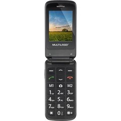 CELULAR FLIP UP DUAL CHIP - P9020 - MULTILASER (AZUL) na internet