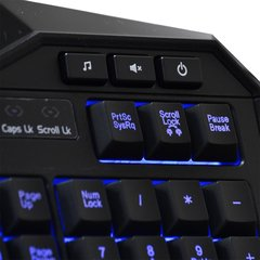 TECLADO WARRIOR GAMER COM LED UBS - TC167 - MULTILASER (PRETO) - comprar online