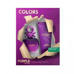 PERFUME COFRE BENETTON PURPLE FOR HER X80ml