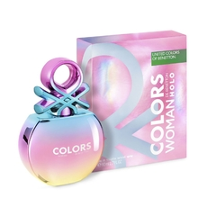 PERFUME BENETTON COLORS HOLO FOR HER 80ml
