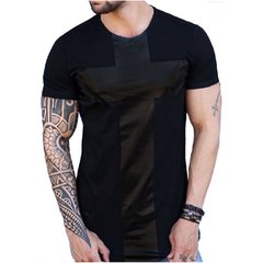 Camiseta Long Line BLACK CROSS