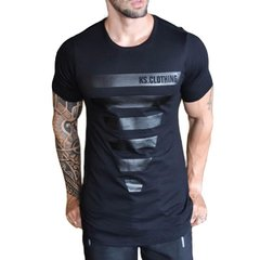 Camiseta Long Line BLACK HERO