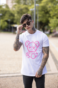 Camiseta Long Line BRAVE BEAR na internet