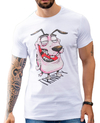Camiseta Long Line Courage The Dog