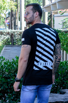 Camiseta Long Line Stripes Style na internet
