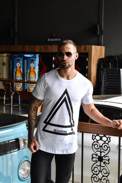 Camiseta Long Line Triangle Style - KS Store