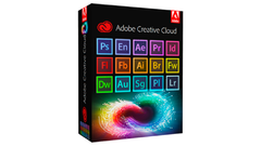 Adobe Creative Cloud 2018 vitalício p/ Windows