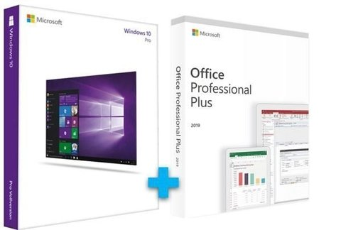 MICROSOFT WINDOWS 10 PRO + OFFICE 2019 PRO LICENÇA ESD VITALÍCIA - (DOWNLOAD)