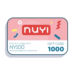 NUYI gift card 1000 - comprar online