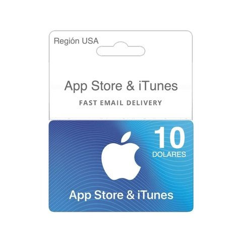 Código ITunes Gift Card $10