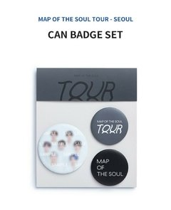 CAN BADGE SET