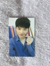 TRADING CARD SEVENTEEN IN CARAT LAND - WOOZI