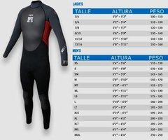 Traje Neoprene Bodyglove Pro 3 3.2 Mm Largo Surf Kayak Buceo en internet