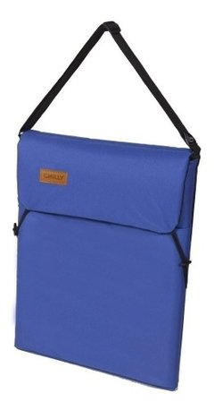Reposera Portatil Y Liviana Chilly Plegable Azul - comprar online