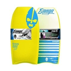 Tabla Bodyboard Trooper Banga Boards 37`