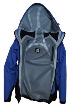 Campera Nautica Tricapa Thermoskin Impermeable C/ Capucha - comprar online