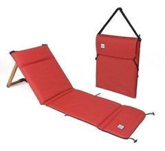 Reposera Portatil Y Liviana Chilly Plegable Roja