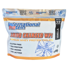AMINO CHARGED WPI - PROTEÍNA ISOLADA - 907G - FIT & BEAUTY