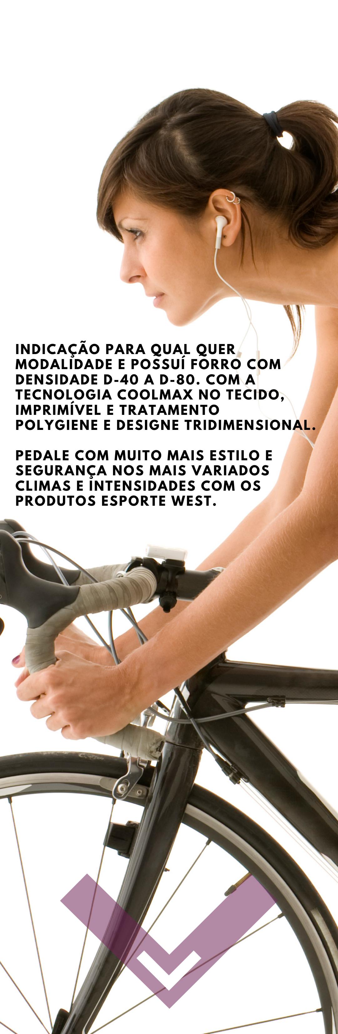 Macaquinho Ciclismo Feminino Glamour Pro 2021