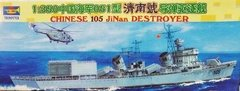 Barco Chinese 105 Jinan Destroyer Escala 1/350 Trumpeter