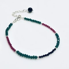 Pulsera color con Plata 925